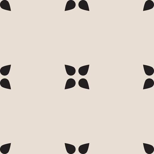 Universal svart och vitt sömlös mönsterplattor. vektor