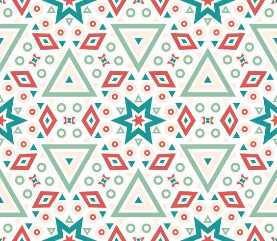 Nahtlose Muster geometrische Textur. vektor