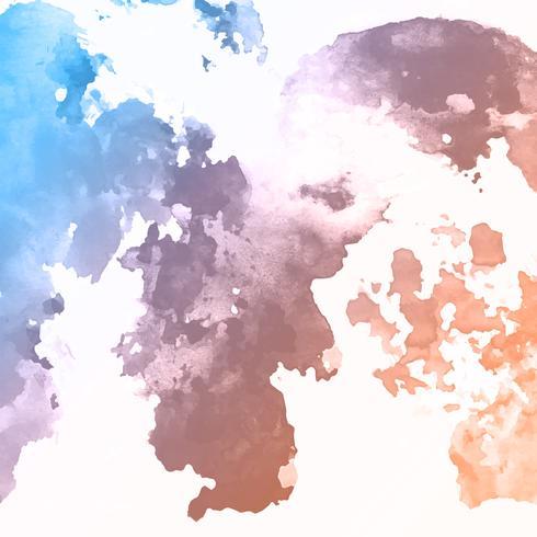 Akvarell textur bakgrund vektor
