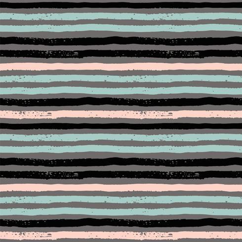 Abstrakt geometriska sömlösa mönster med ränder. vektor