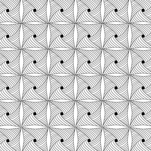 geometrisches Schwarzweiss-Muster vektor