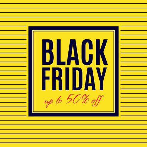 Black Friday-Verkaufsplakatdesign vektor