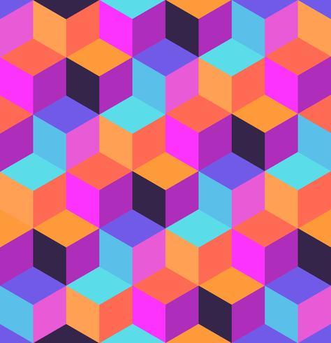 Geometrisk sömlös mönster vektor