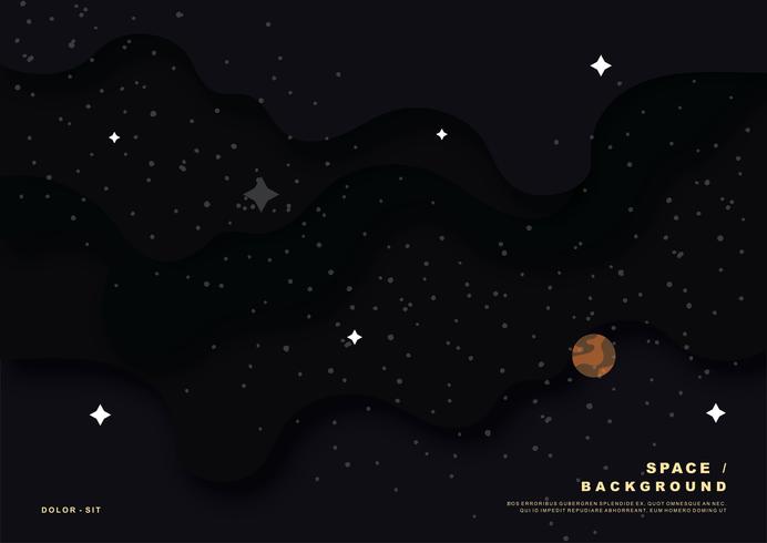 Space Bakgrund Vector
