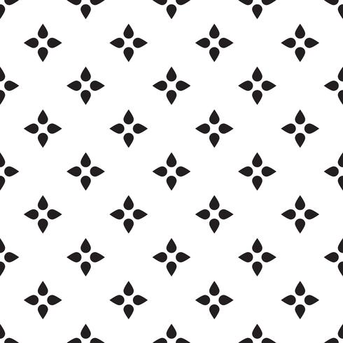 Nahtloses geometrisches Dreieckmuster. Abstraktes Retro vektor