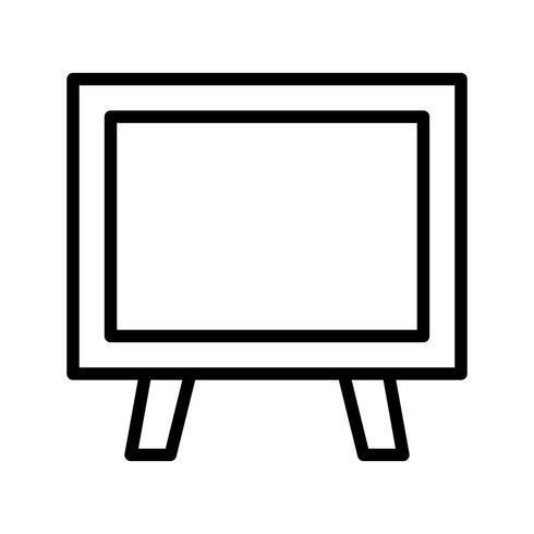 Vektor-Tafel-Symbol vektor