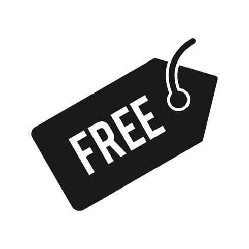 Vektor kostenlose Tag-Symbol