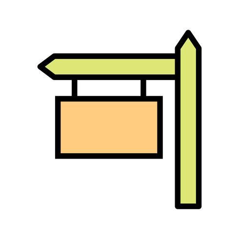 Zeichenbrett-Vektor-Symbol vektor