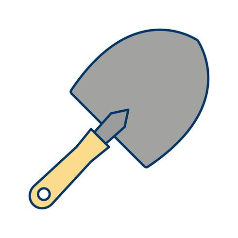 trowel vektor ikon