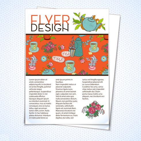 Grafisk design Layout vektor
