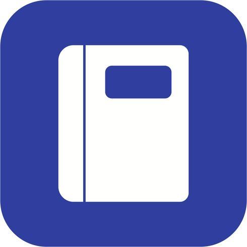 Vektor Notebook Icon