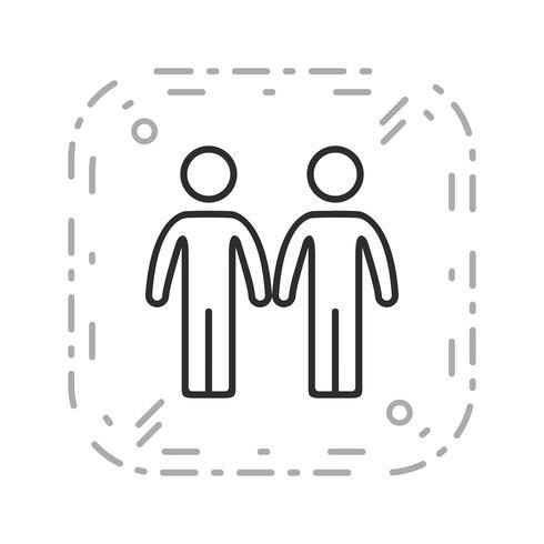 Partnerskapsvektogram vektor