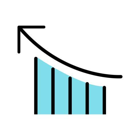Prestationsvektorns ikon vektor