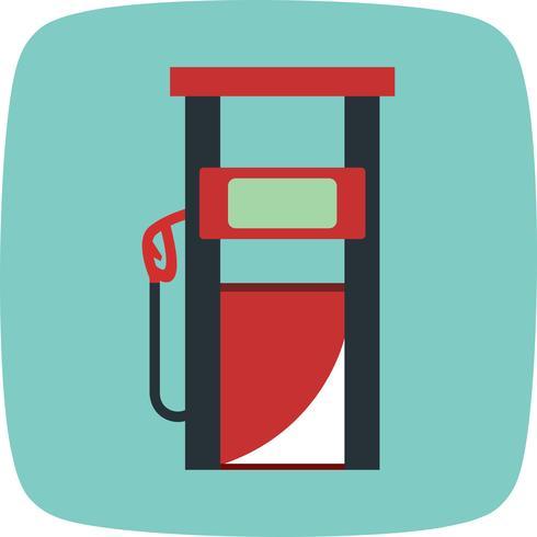 bränsle station vektorikonen vektor