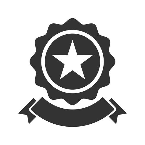 SEO Award Glyph Icon vektor