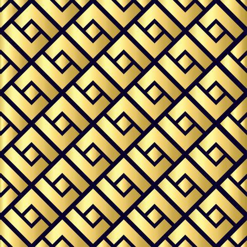 Abstraktes geometrisches nahtloses Muster. Chinesischer Hintergrund vektor