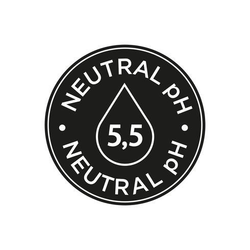 Neutrales pH-Symbol vektor