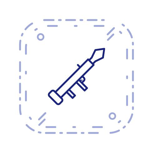 lanseringsvektorikonen vektor