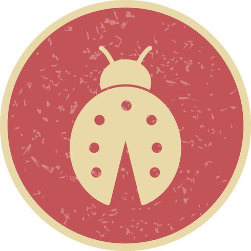 lady bug vector icon