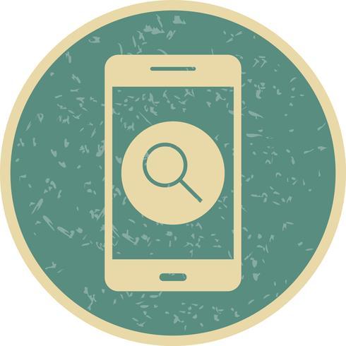 Suche Vektor-Symbol für mobile Anwendung vektor