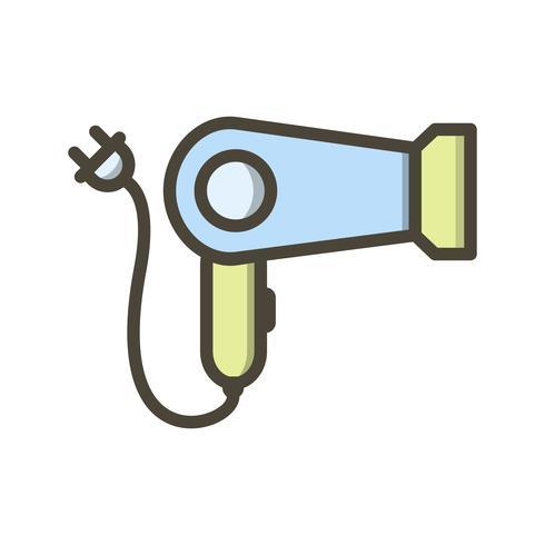 Haartrockner Vektor Icon