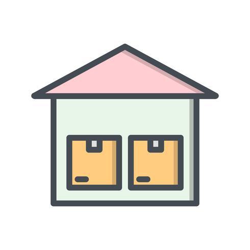 ikon för vektor lagringsenhet
