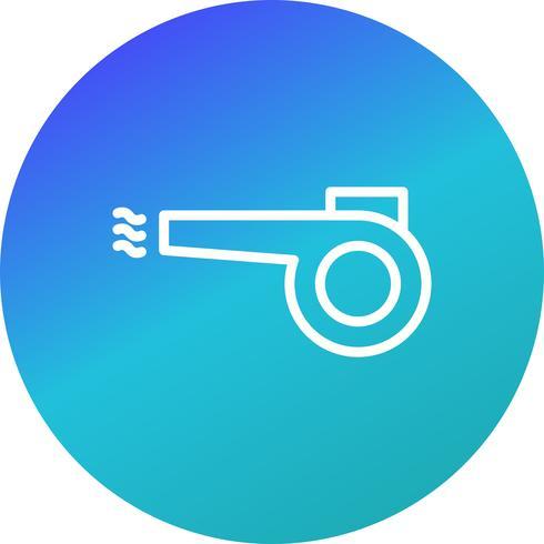 Blåsare Vector Icon