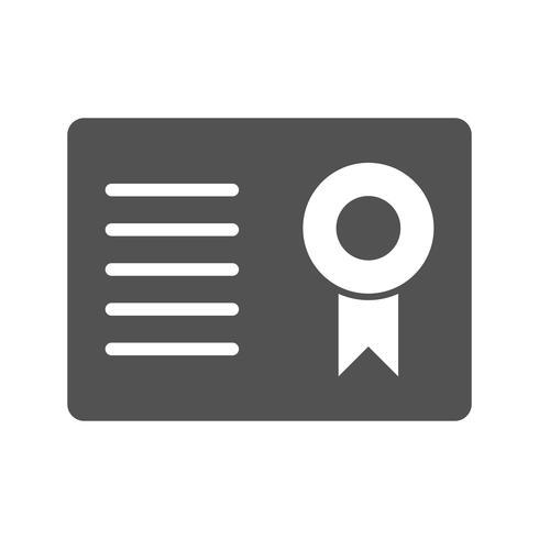 Vektor-Zertifikat Vektor-Symbol vektor