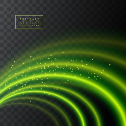 Abstrakte Lichteffektbeschaffenheit auf transparentem Hintergrund. vektor