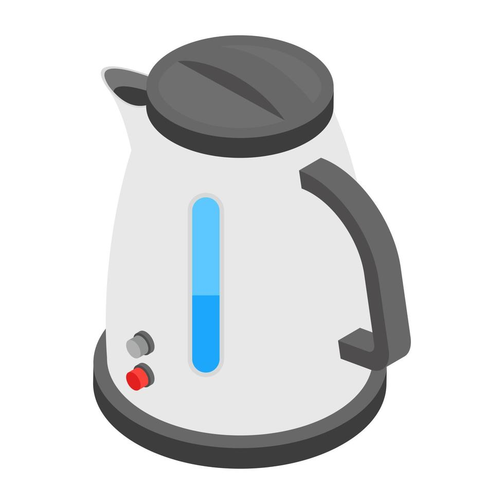 Wasserkocher Konzepte vektor