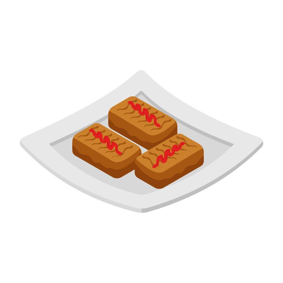 Marmelade-Cookie-Konzepte vektor