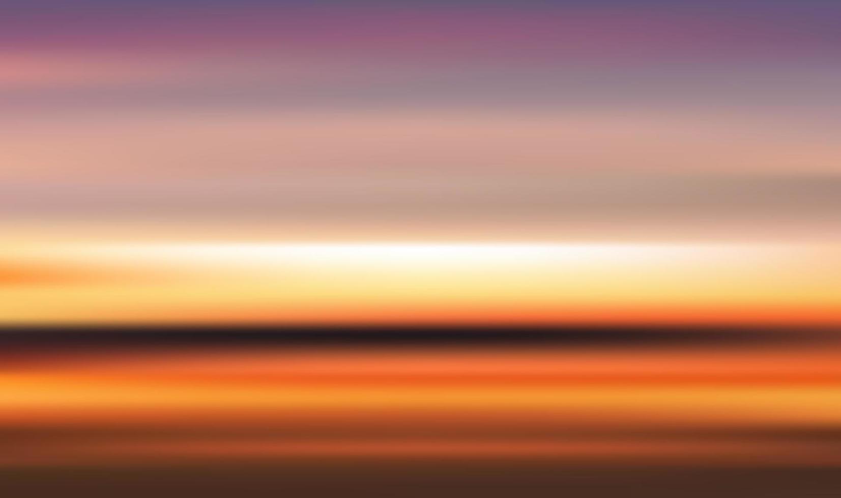 Sommer Sonnenaufgang Hintergrund vektor