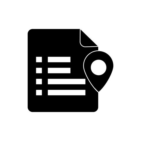 glyph black icon vektor