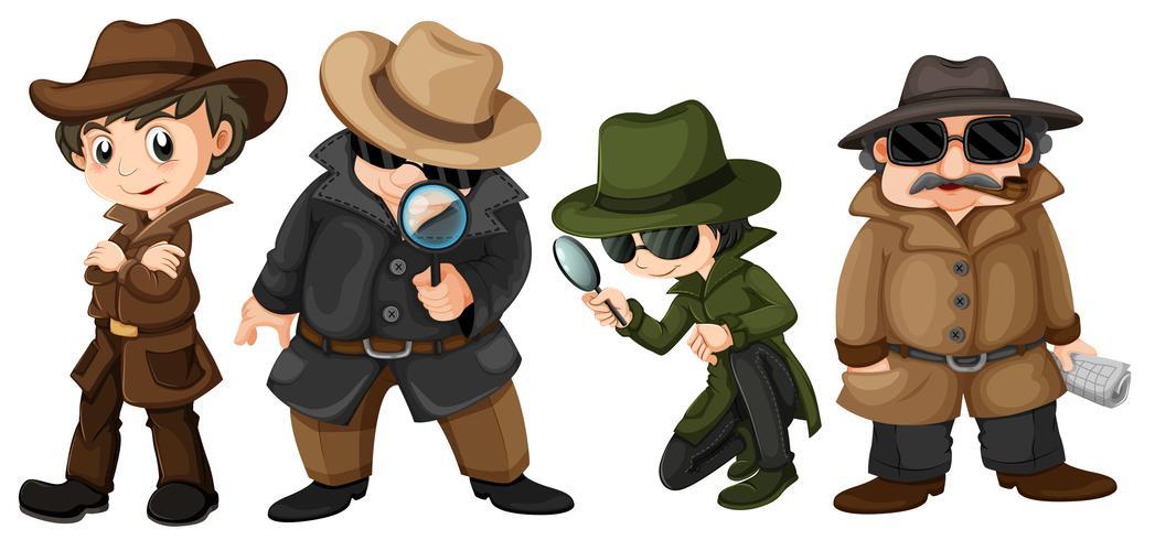 Detektive vektor