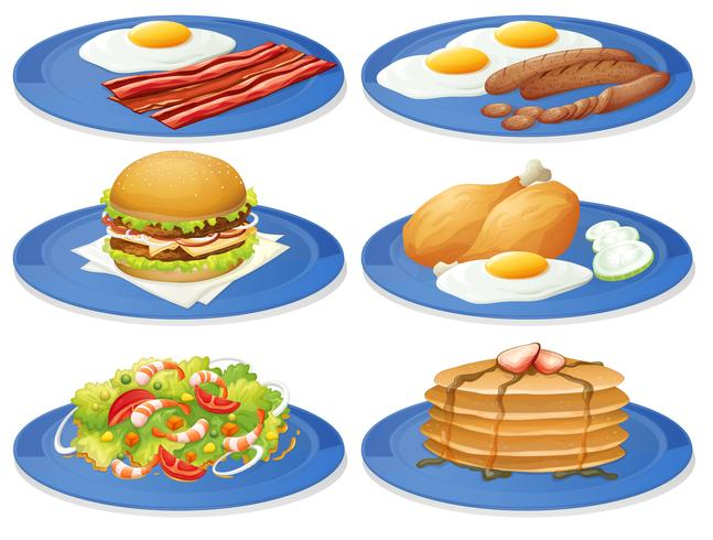 Frühstück vektor