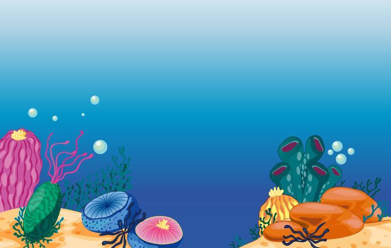 Unterwasser vektor