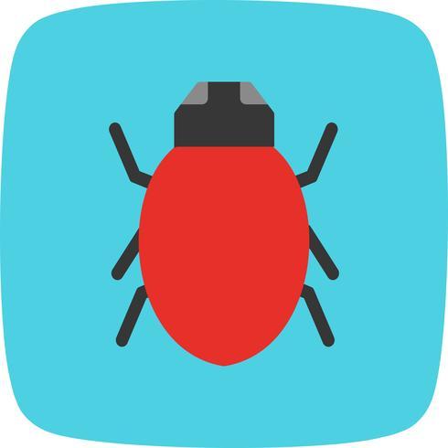 Bug-Vektor-Symbol vektor