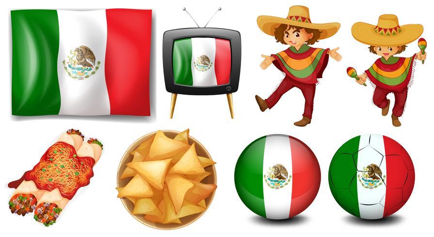 Mexiko vektor
