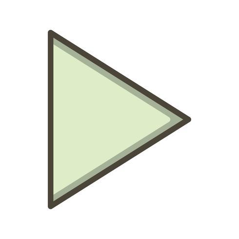 Vektor-Symbol zu spielen vektor