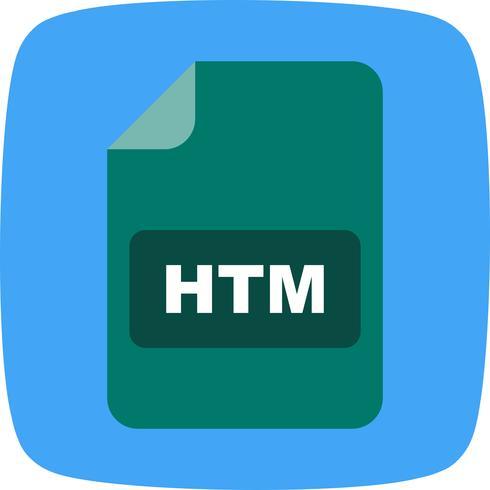 HTM-Vektor-Symbol vektor