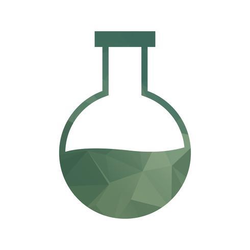 Lowpoly gefülltes Symbol vektor