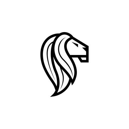 lejon logotyp design inspiration vektor