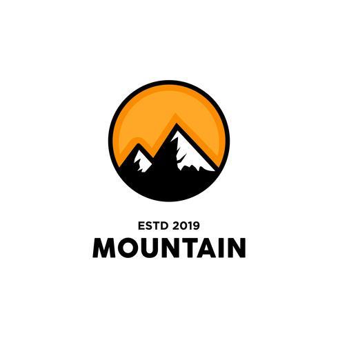 Berg Logo Design Inspiration vektor