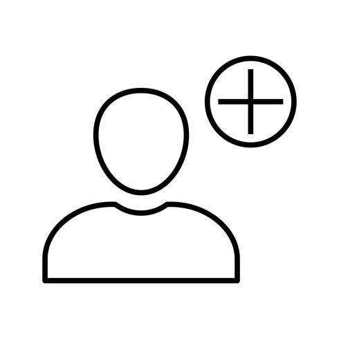 Schwarzes Symbol vektor