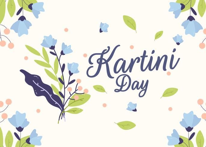 Kartini-Tagesvektor vektor