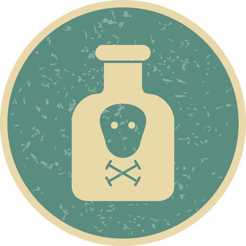 Chemikalien-Vektor-Symbol vektor