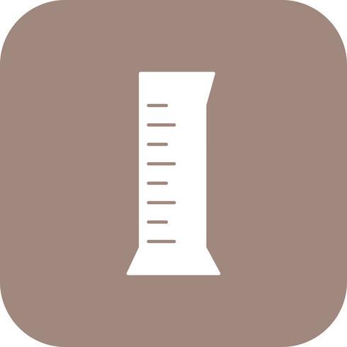 Zylinderkolben-Vektor-Symbol vektor