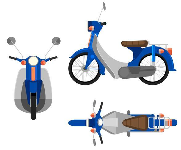 Ein Motorrad vektor