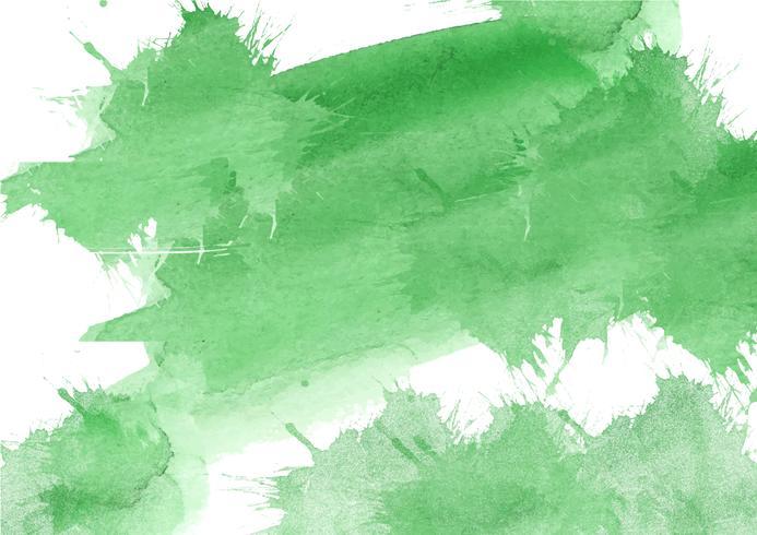 Färgglada handmålade akvarellbakgrund. Gul, grön och blå akvarellborstslag. Abstrakt vattenfärgstekstur och bakgrund för design. Akvarell bakgrund på texturerat papper. vektor