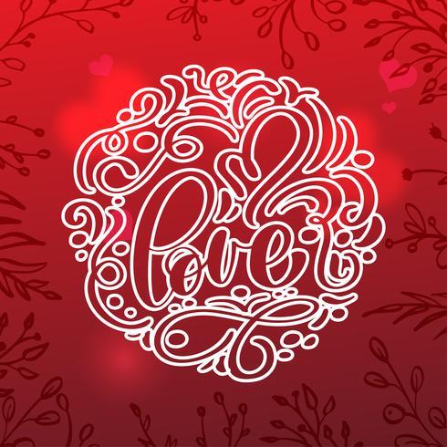Valentinsgrußkarte mit Weinleseherzen vektor